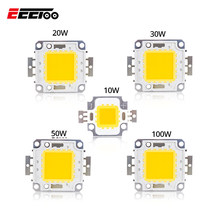 LED Light Matrix COB Integrated LED Lamp Chip 3W 10W 20W 30W 50W 100W DC 10-32V For DIY Searchlight Outdoor Spotlight Floodlight(China)