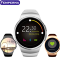 Femperna KW18 Smart Watch Bluetooth Heart Rate Monitor WristWatch for Apple Samsung HTC Huawei Xiaomi Android Smartphones
