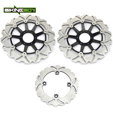 Front Rear Brake Discs Rotors for Honda CBR 600 F FX FY 99 00 CBR600F4 SuperSport F4 CBR900RR CBR 900 RR Fireblade N P 92 93