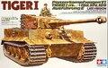 Tamiya модель 35146 1/35 немецкий тяжелый танк тигр я поздно версия