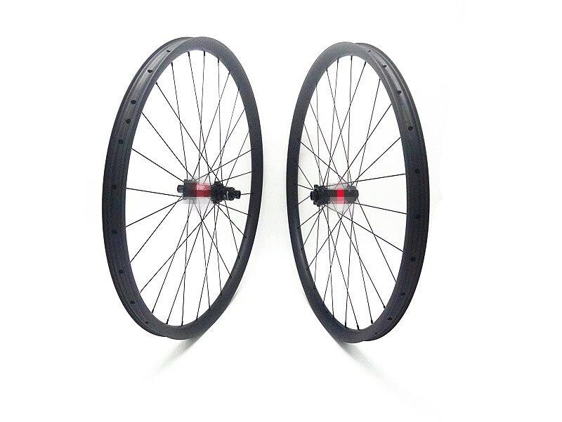 29er carbon mtb disc wheels 35x25mm tubeless DT240S boost 110x15 148x12 mtb disc wheels 36T 48T 54T bike wheelset 1420 spokes