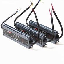 LED Strip Voeding 110 V 220 V naar 12 V LED Driver IP67 waterdichte Ultra Dunne LED Licht Transformator 60 W 100 W 120 W 150 W 200 W