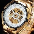 Forsining Top Brand Luxury Watch Men Sport Steel Watches Mens Casual Watch reloj mujer Skeleton Automatic Mechanical Wrist Watch