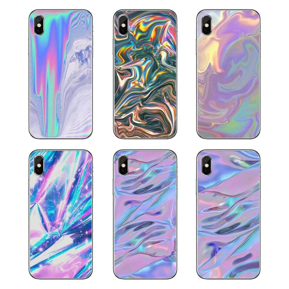 Soft Transparent Shell Covers For LG G7 Q6 Q7 Q8 Q9 V30 X Power 2 3 For OnePlus 3T 5T 6T Pastel Metallic Tumblr Art Print