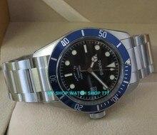 Плавание часы сапфировое стекло 40 мм Parnis Японский 24 Jeweles Автоматический Self-ветер Движение мужчины Механические Наручные Часы 8