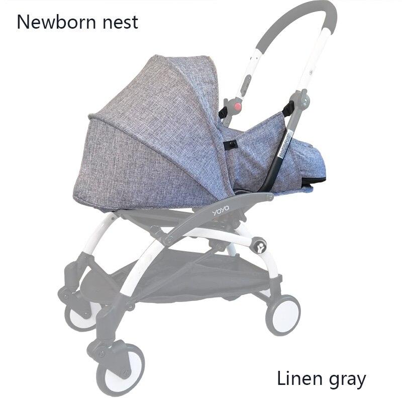 Kereta Dorong bayi Sarang Kelahiran Kantong tidur Baru Lahir Stroller - Aktivitas dan peralatan anak anak - Foto 3