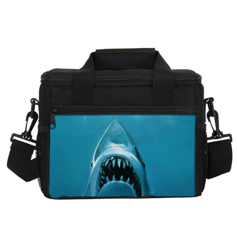 VEEVANV 7L Oxford Thermal Lunch Bags Men Food Lunch Box Picnic Cooler Bags Insulated Storage Container Bag Tote Handbags Women