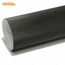 1.52x30cm Aluminum Brush Vinyl Film Black aluminium vinyl car sticker brush FREE SHIPPING
