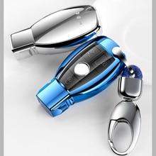 Авто дистанционного Мягкие TPU ключ чехла для Mercedes Benz A B C класса GLA C S E GLC GLK CLA ml GLE класса автомобильные аксессуары для укладки