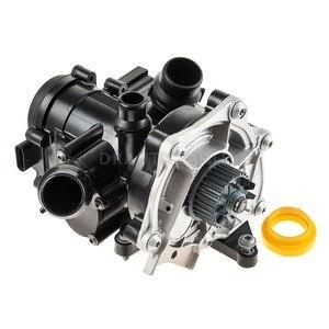 Image 2 - OEM Электронный водяной насос термостат Корпус в сборе для VW Golf Passat Tiguan OE # 06L121111A, 06K121011B, 06L121012H