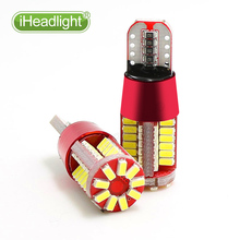 T10 Led car bulb w5w canbus super bright 57smd width lamp NO Error Car marker Auto Wedge license lights bulb parking light 12V