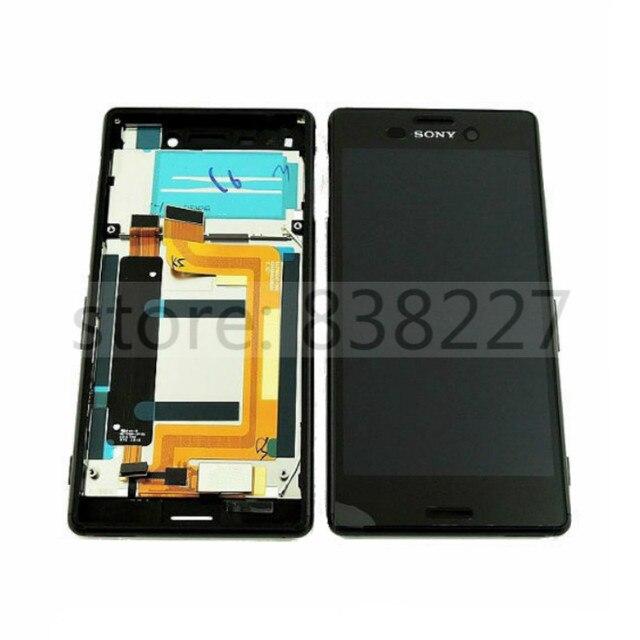 Lcd touch screen display para sony xperia m4 aqua dual E2312 E2333 E2363 tela lcd com quadro Digitador assembléia ALTA QUALIDADE