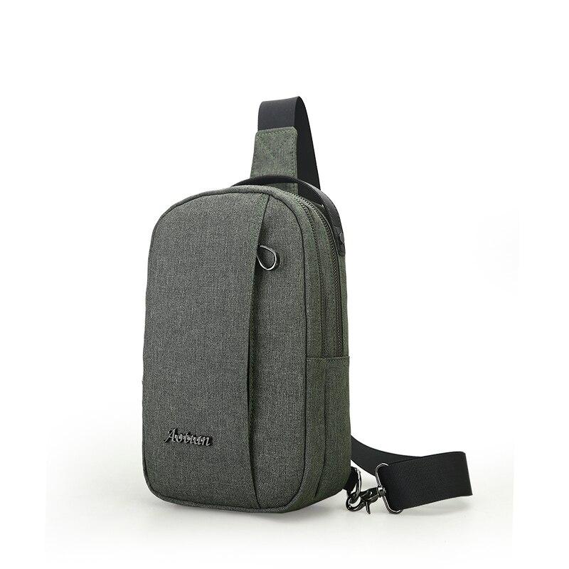 2017 New Hot Men Shoulder Bag Fashion Nylon Crossbody Bag Chest Bags High Quality Man Travel Messenger Bags