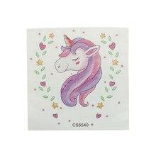 Cartel a prueba de agua papel tapiz Vintage decoración del hogar precioso unicornio pegatinas de baño Diy vinilo adhesivo interesante arte de pared para el baño