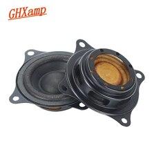 """Ghxamp 2 """"pouces 58 MM basse radiateur passif haut parleur auxiliaire Woofer Gain pour 2"""" 2.5 """"3"""" pouces plongée profonde basse fréquence haut parleur bricolage"""