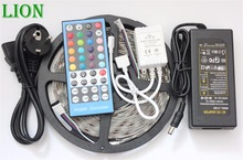 Waterproof IP20/65/67 5050 RGBW WW LED Strip 5M 300 Led SMD 40 Keys IR Remote Controller 12V 5A Power Adapter Flexible Light