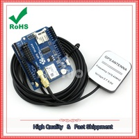 GPS Shield GPS Record Expansion Board GPS Module With SD Card Slot Antenna Board