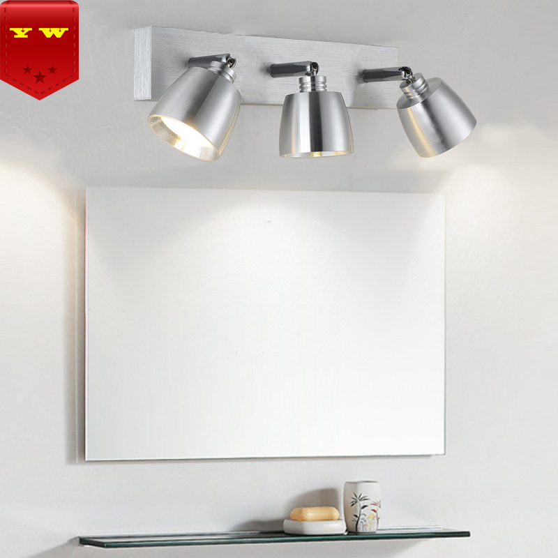 3W6W9W12W Modern Aluminum LED front mirror light bathroom makeup wall lamps vanity toilet wall mounted sconces lighting