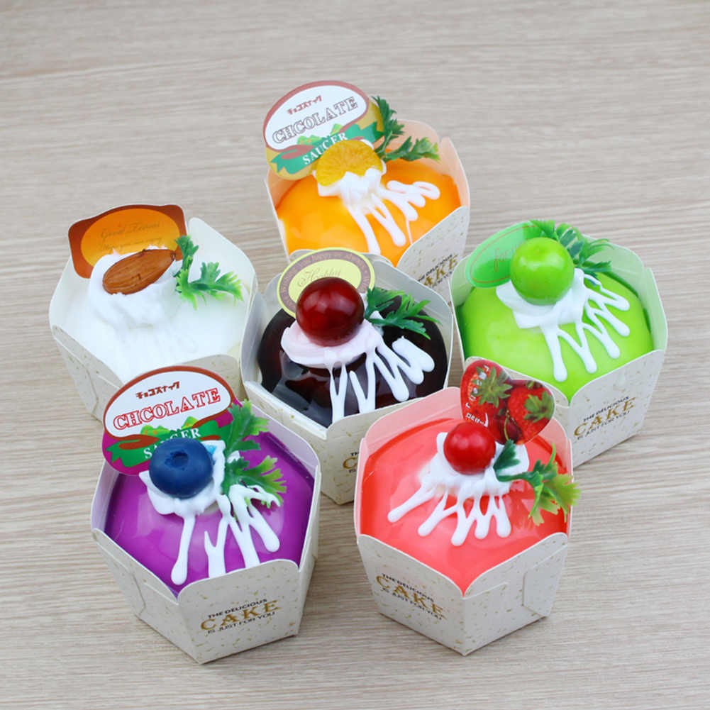 1pc Realistic Artificial Fake Cake Cupcake Model Cup Display Photography Props Crafts Home Decoration