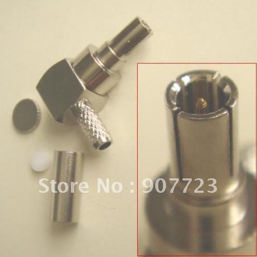 CRC9 Male Right Angle Crimp RG174 RG188 RG316 RF Connector Adapter For HUAWEI 3G 4G Modem m378a1k43cb2 crc