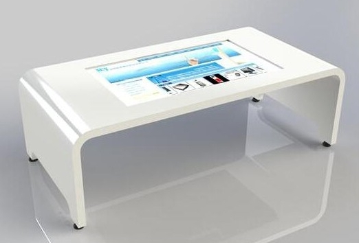 Beau 2020 New China Supplier Offer Interactive Multi Touch Screen Coffee Table  Wifi/lam/pc