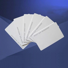Yongkaida FudanS50 PVC blank card 13.56Mhz FudanM1 rfid card printable Entry Access system business card