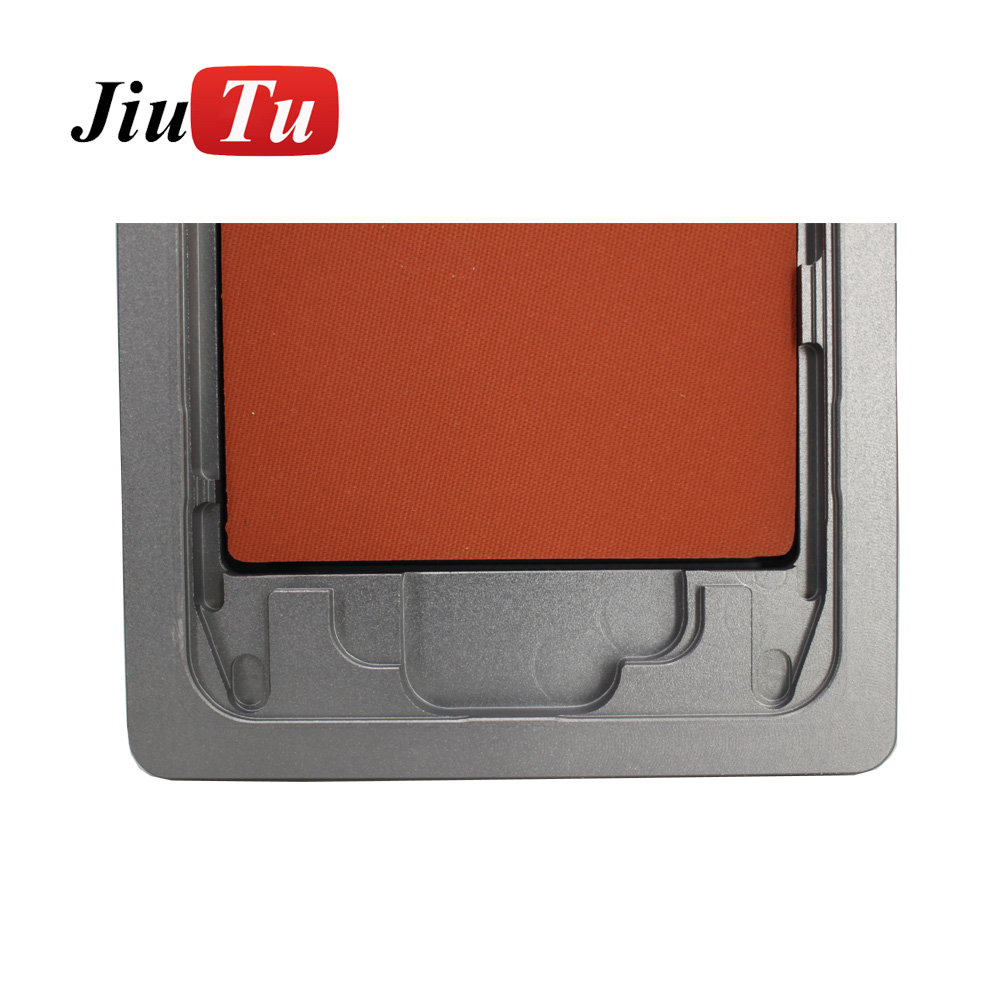 Aluminium Mould For iPhone plusX Laminator mold metal jig Only for the front glass with frame Location for OCA user (9)