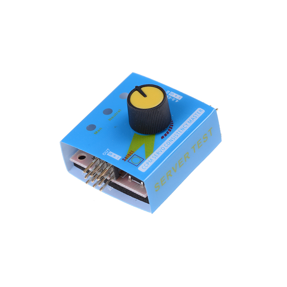 Profrssional Multi Servo Tester 3CH ECS Consistency Speed Controler Power Channel CCPM Met