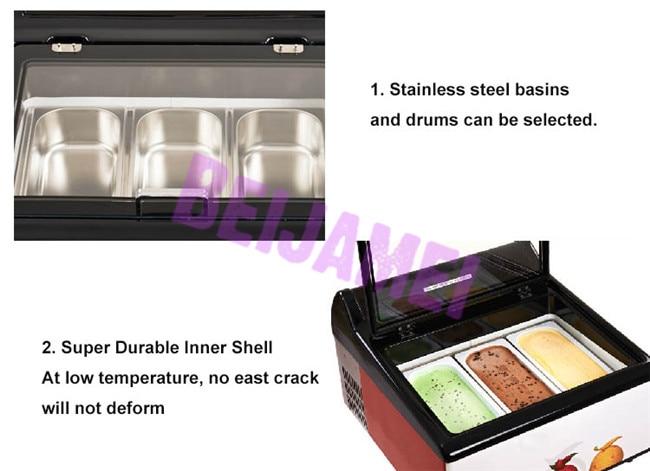 Dessert freezer details 1