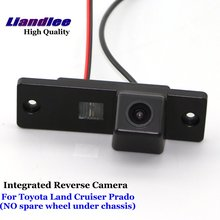 Liandlee For Toyota Land Cruiser Prado 2010-2017 Car Reverse Camera Rear View Backup Parking Camera / Integrated SONY CCD new high quality rear view backup camera parking assist camera for toyota 86790 42030 8679042030