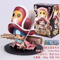 2015 Nona Geração Figura One Piece Chopper Com Arma Modelo Figuras de Ação Do Filme Tony Tony Chopper Box Package # C