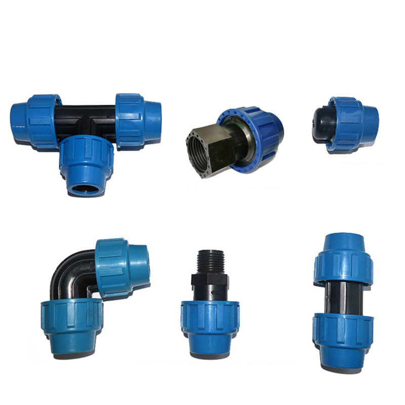 1pc 25mm PE Tube Fast Joint  Paper Thickening Straight Tee Elbow Plug Irrigation Pipe Industrial Connector