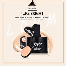 Loumesi air cushion powder Whitening flawless bb cc cream  make up primer face foundation base Makeup