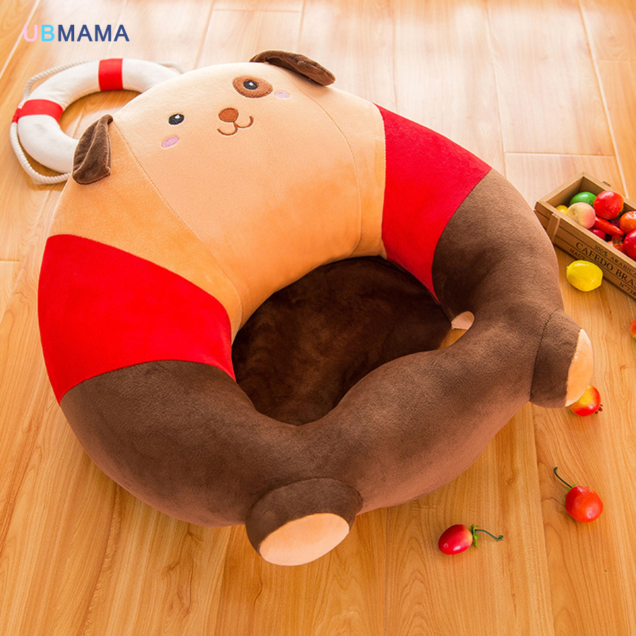 The baby seat sofa Ppmian baby learning chair comfortable travel car seat cushion pillow short plush plush toys