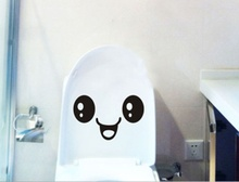 Removable Sticker Bathroom Toilet Stickers Cute Smiley Stickers Free Stickers Notebook Handy