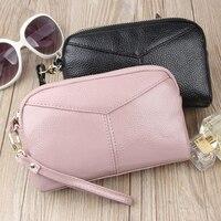 Hot Sale Wallet Brand Coin Purse Split Leather Women Wallet Purse Wallet Female Card Holder Long Lady Clutch Portefeuille Femme