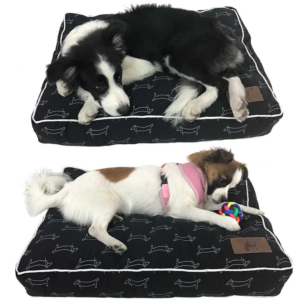 Hoge Kwaliteit Hond Bed Zachte Sofa Waterdichte Hond Bed Voor Slapen Kleine Medium Grote Hond Kat Mat Met Dier patroon PY0108