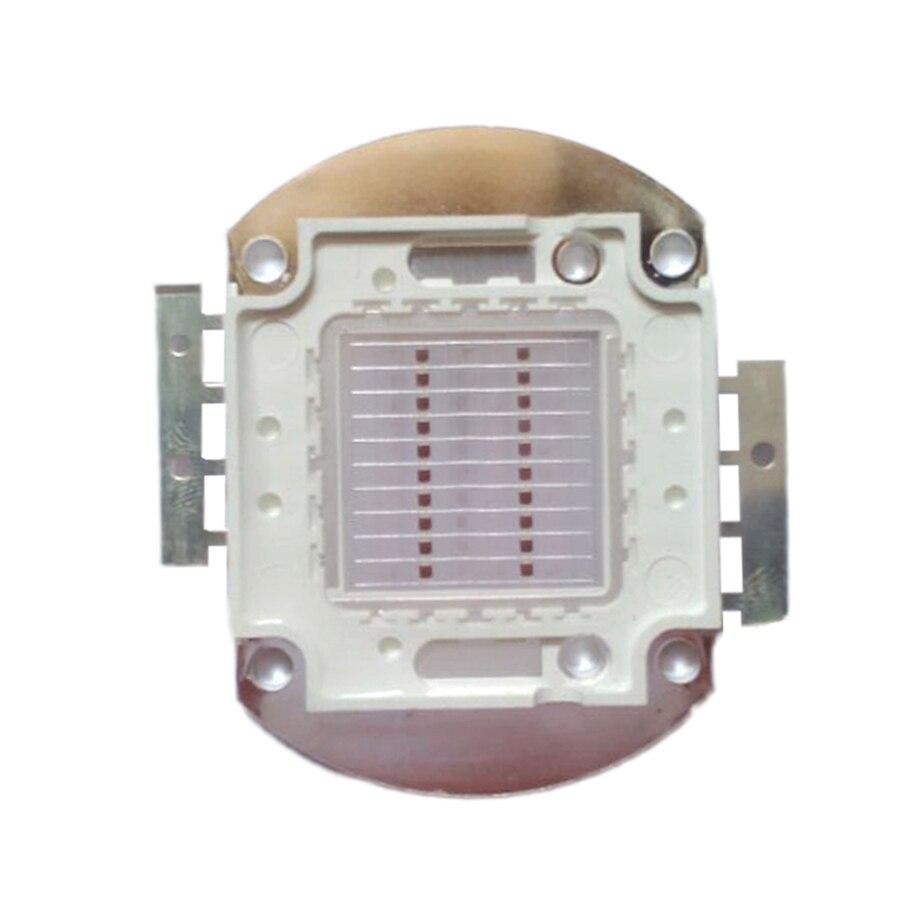 High Power 20W Deep Red 660nm~665nm 600LM 22V 600mA SMD <font><b>LED</b></font> Light <font><b>Grow</b></font> Plant Lamp for Greenhouse Garden