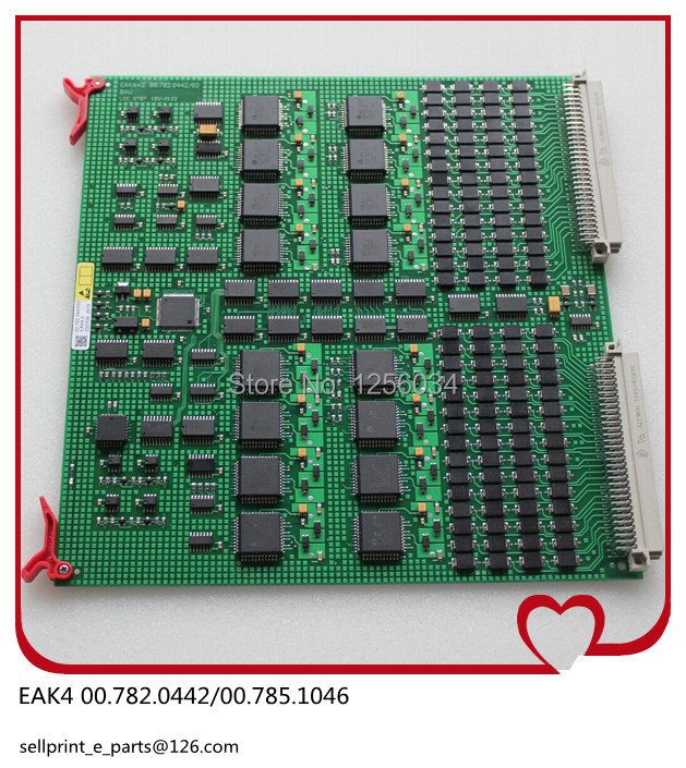 1 piece EAK4 board for heidelberg machine 00.785.0770/00.782.0442/00.785.1046 EAK4 card