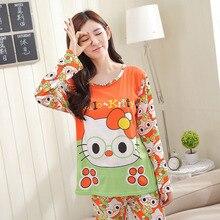 Bavlněné dámské pyžamo s pohádkovou postavou (Mickey Mouse, Hello Kitty … )