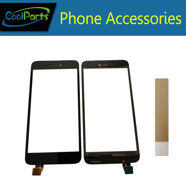 1PC/Lot High Quality For Micromax Canvas Spark 3 Q385 Touch Screen Digitizer Touch Panel Lens Glass With Tape Black Color