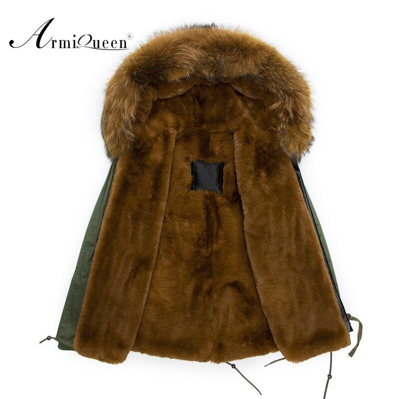 Европа и Америка модные Повседневное большой мех енота с капюшоном M-4XL большой Размеры мужчин Куртки коричневый мех верхняя одежда