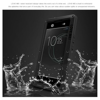 LOVE MEI Waterproof Phone Bag For Sony Xperia XA1 Ultra Case Powerful Shockproof Snow Proof Dirt