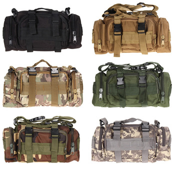 Outdoor Military Tactical Waist Bag Waterproof Nylon Camping Hiking Backpack Pouch Hand Bag military bolsa Style mochila 1