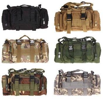 Outdoor Militare Tattico Sacchetto Della Vita di Nylon Impermeabile Escursione di Campeggio Dello Zaino Del Sacchetto di Stile del Sacchetto di Mano militare bolsa mochila