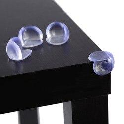 10 pçs/lote criança protetor de silicone segurança do bebê mesa canto borda proteção capa crianças anticollision borda canto guardas cuidados