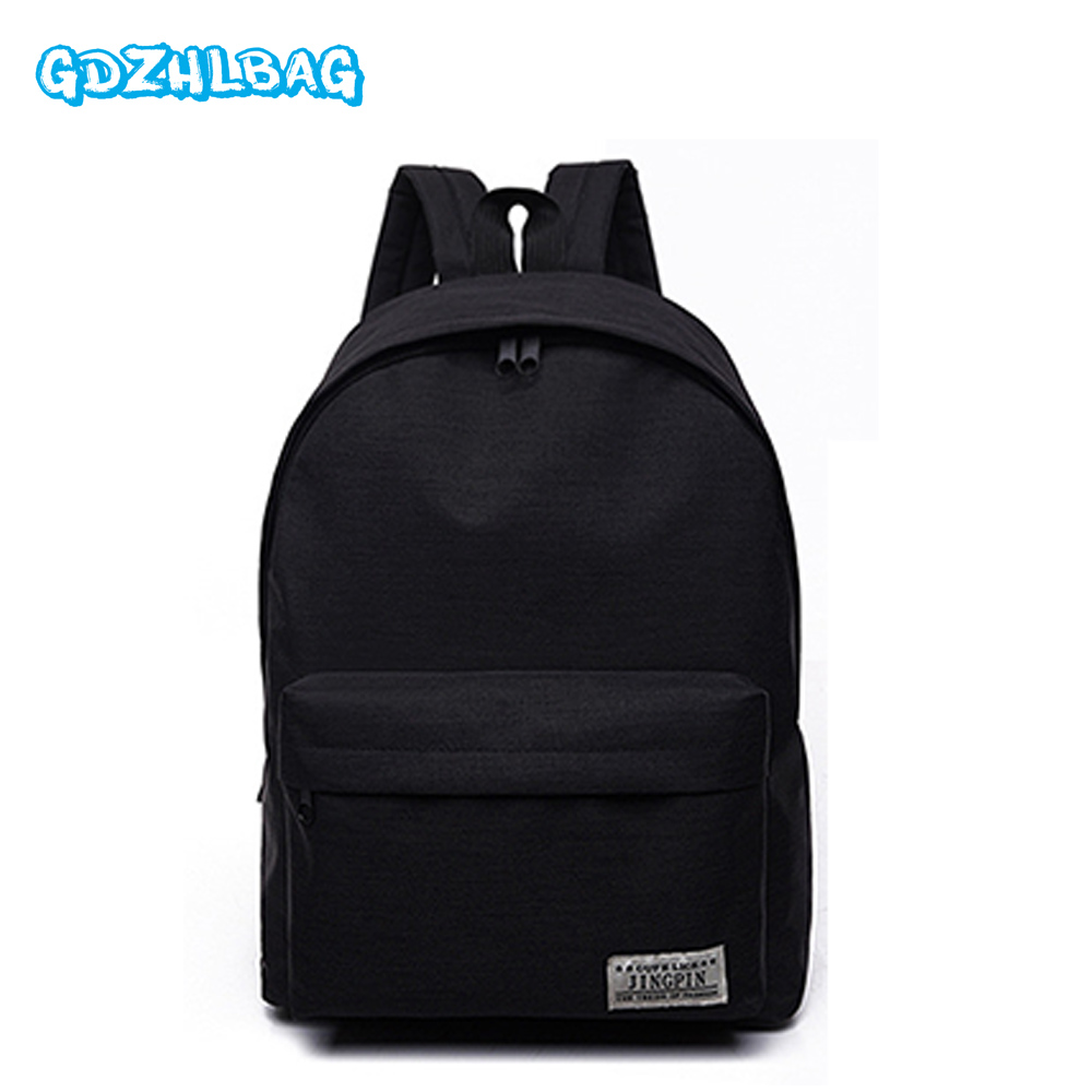 GDZHLBAG Women Backpacks For Teenage Girls School Bag Travel Leisure Laptop Backpack Female Canvas Backpacks Men's Backpack B167 canvas backpack women for teenage boys school backpack male