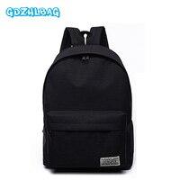 GDZHLBAG Women Backpacks For Teenage Girls School Bag Travel Leisure Laptop Backpack Female Canvas Backpacks Men