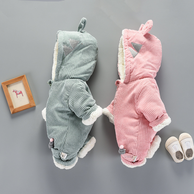 Travel snail toddler boys costume girls romper kids newborn bebek giyim jumpsuit ropa ninas solid corduroy 2017 Winter New 2016 winter new soft bottom solid color baby shoes for little boys and girls plus velvet warm baby toddler shoes free shipping