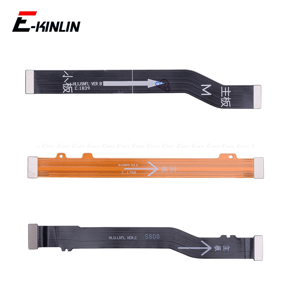 Main Board Mainboard <font><b>Motherboard</b></font> LCD Connector Flex Cable For <font><b>HuaWei</b></font> <font><b>Honor</b></font> View 20 Note 10 <font><b>9</b></font> 9i 8X 8C 8 Pro <font><b>Lite</b></font> image